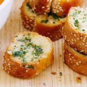 Plain Garlic Bread