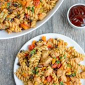 Barbeque Chicken Pasta