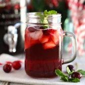 Cranberry Ice Tea