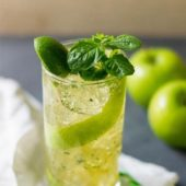 Green Apple Mojito